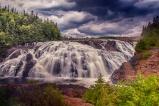 Scenic High Falls--2